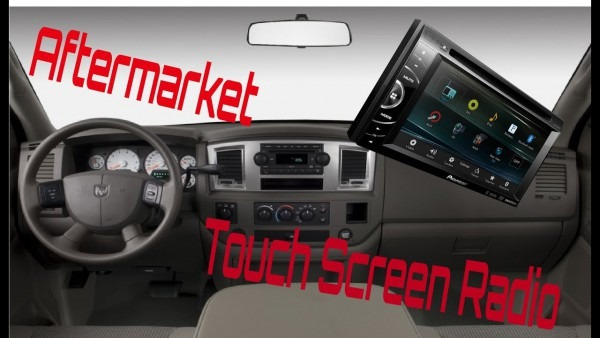 Aftermarket Radio Install In A 2006 Dodge Ram