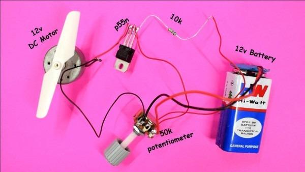 Dc Motor Speed Controller Using Mosfet