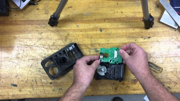 Chrysler Town And Country Headlight Switch Teardown