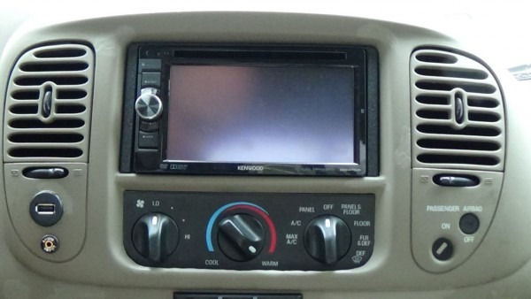 03 F150 Double Din Mod And Kenwood Ddx471hd Dvd Receiver Install