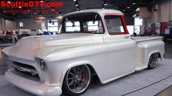 1957 Chevrolet 3100 Pickup  Snow White  Street Truck The Grand