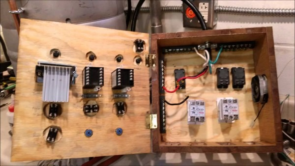 Electric Brew Controller Build