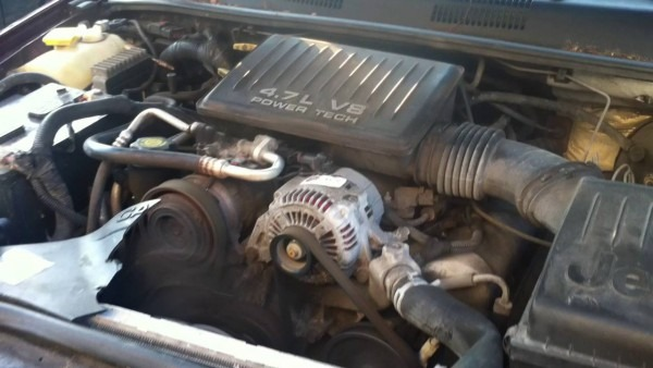 4 7l Powertech V8 1999 Jeep Grand Cherokee