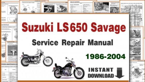 Download Suzuki Ls650 Savage Service Repair Manual 1986