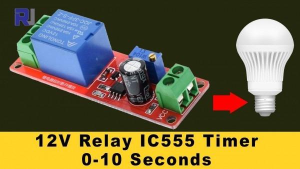 12v Timer Relay Wiring Diagram