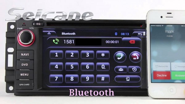 Aftermarket Car Stereo Bluetooth Navigation For Jeep Grand