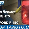 1999 Ford F150 Tail Lights