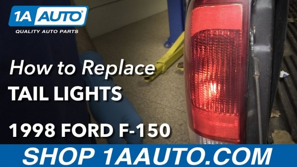 How To Replace Tail Light Assembly 97
