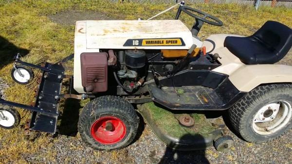My Free 1977 Montgomery Wards   Gilson Garden Tractor Walk Around