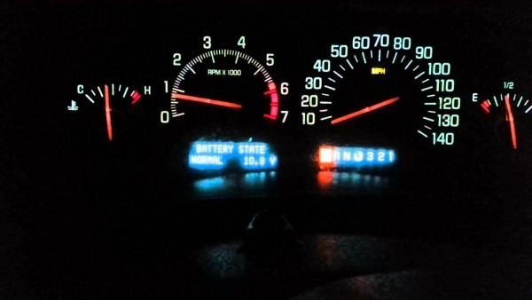 1999 Buick Park Avenue Voltage Problems