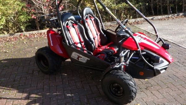 Hammerhead Gts150 Buggy In Red From Storm Buggies Uk