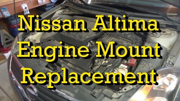 Nissan Engine Mount (motor Mount) Diagnosis And Replacement 2007