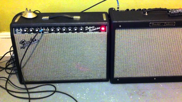 Fender Hot Rod Deluxe Vs Deluxe Reverb Reissue (clean Sound)