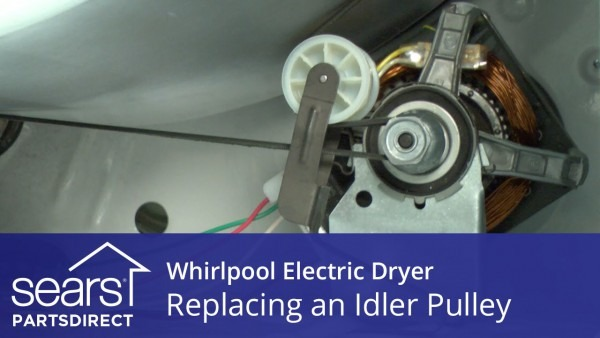 How To Replace A Whirlpool Electric Dryer Idler Pulley
