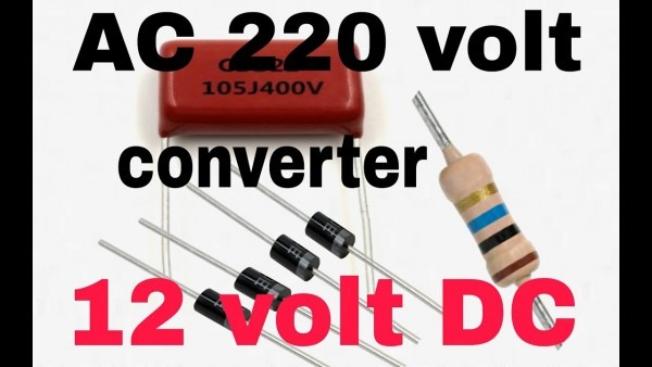 Ac To Dc Converter Without Transformer ( In Hindi 100  Working