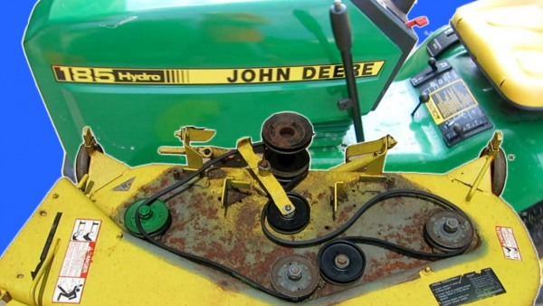How To Maintain A John Deere Lawn Mower Deck Replace Blades