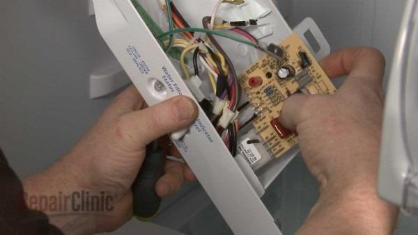 Whirlpool Refrigerator Replace Defrost Control Board  W10366605