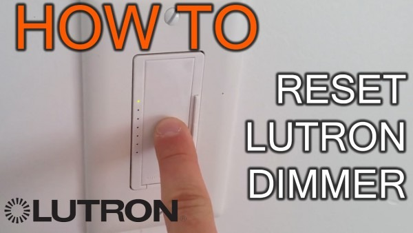 How To Reset Lutron Dimmer
