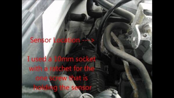 Camshaft Sensor Removal On 350z