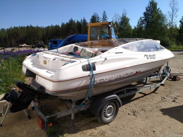 Bayliner Capri 1850 3 0l Motor Boat 1991