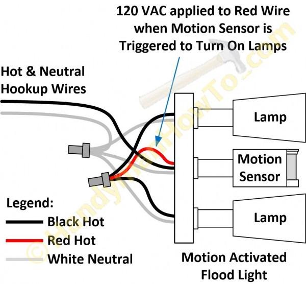 Solar Motion Light Wiring Diagram