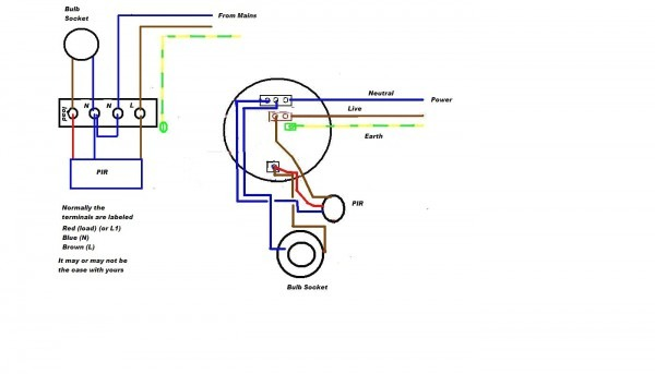 Solar Motion Light Wiring Diagram