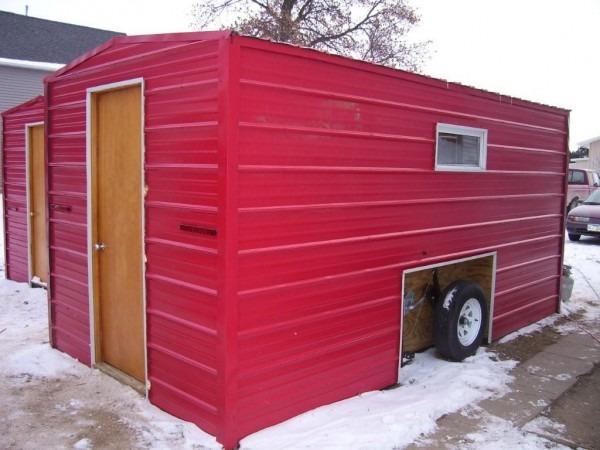 Relaxshacks Com  Modern Ice Fishing Shacks For Rent (tiny House
