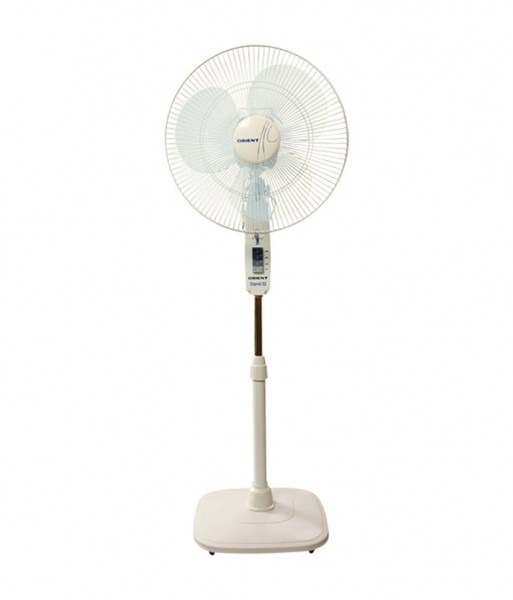 Orient 400 Mm Stand 32 Standing Fan White Price In India