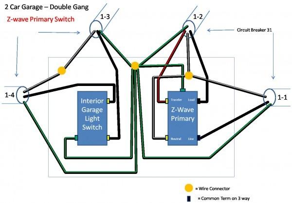 California 3 Way Switch Diagram