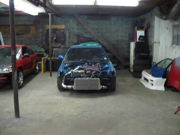 91 Crx   605hpgsr Gt35r    91 Crx Hf D16 Turbo Project  2