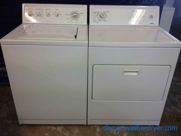 Large Images For Great Kenmore 80 Series Washer Dryer Set