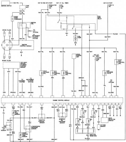 98 Honda Prelude Wiring Diagram