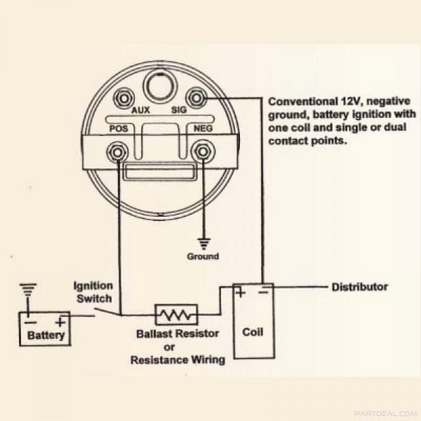 Ammeter Gauge Wiring Diagram