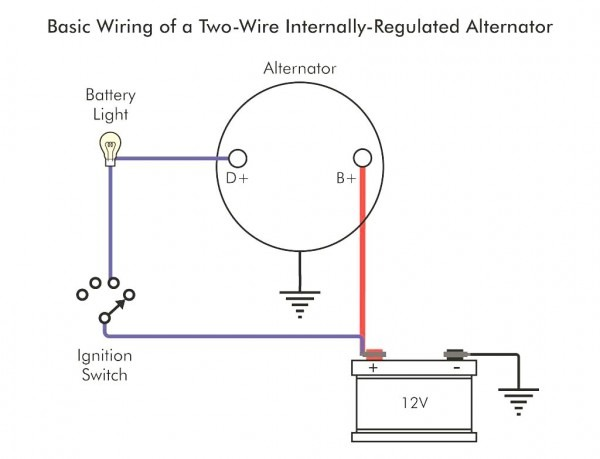 One Wire Gm Alternator Wiring