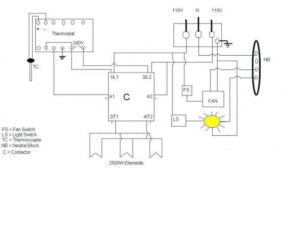 Stove Switch Diagram