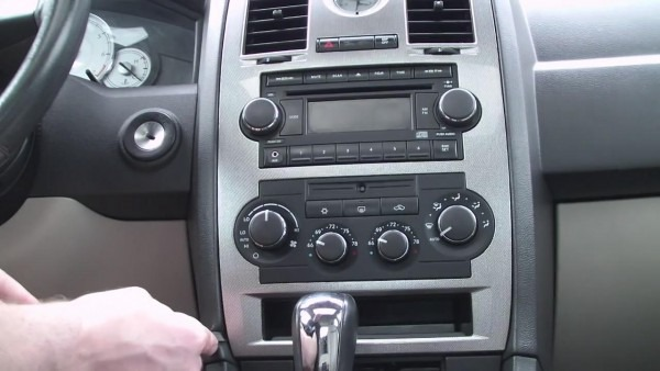 3 Steps To Replace A Chrysler 300c Stereo With Gps Navigation Dvd