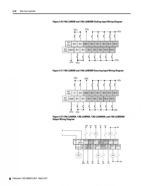 Micrologix 1400 Wiring Diagram Micrologix Wiring Diagram Wiring