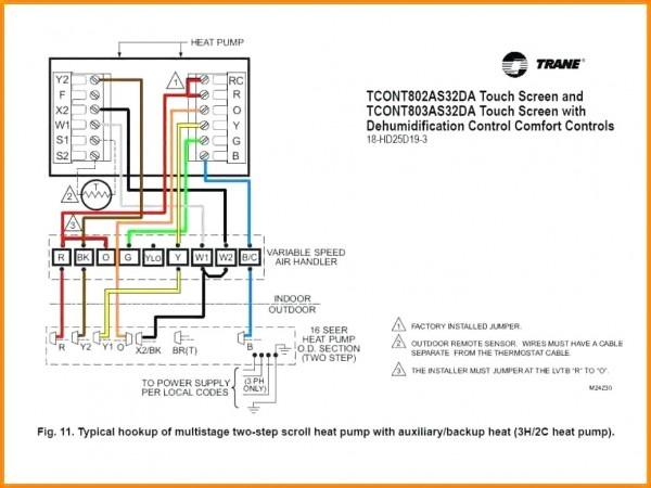 Digital Thermostat Wiring Diagram Ruud