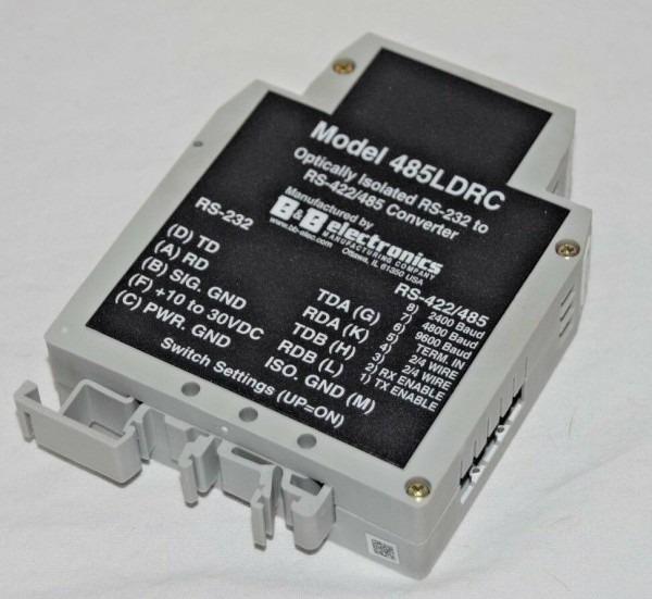 B&b Electronics 485ldrc Rs232 To Rs422 485 Converter Optically