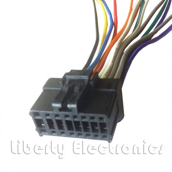 New 16 Pin Wiring Harness Plug For Pioneer Deh