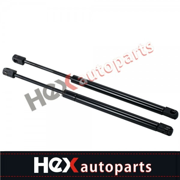 2 New Front Hood Lift Supports Struts Shocks Springs Props For