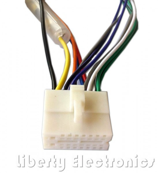New 16 Pin Wiring Harness Plug Connector For Clarion Vz400   Vz