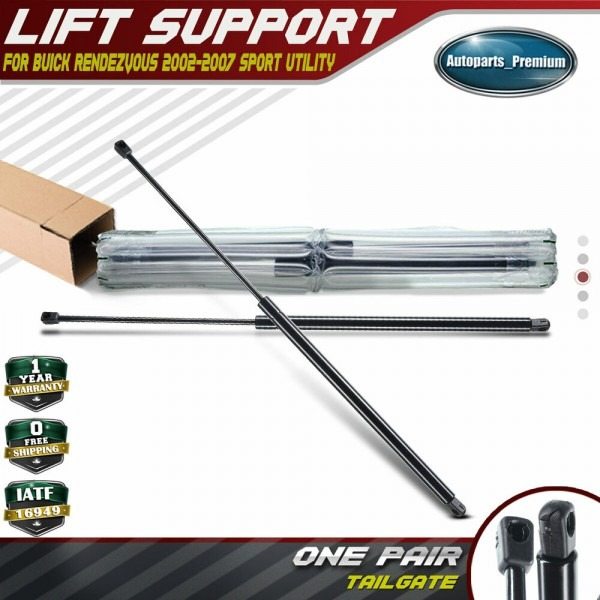 Set Of 2 Tailgate Rear Hatch Lift Supports Strut For Buick