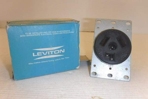 Leviton 5207 Dryer Receptacle 30a Nema 10