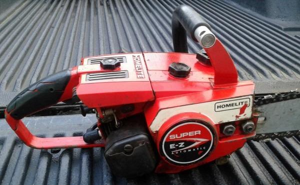 Vintage Chainsaw Super E