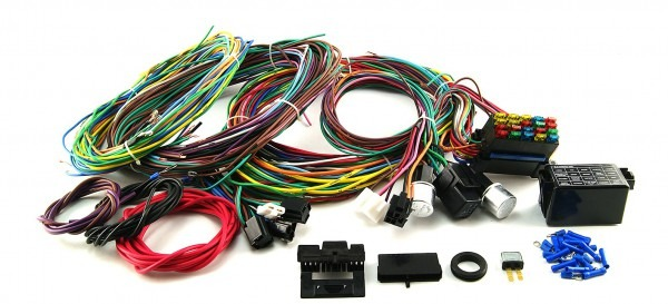 20 Circuit Wiring Harness Street Rod Rat Rod Custom Classic Cars