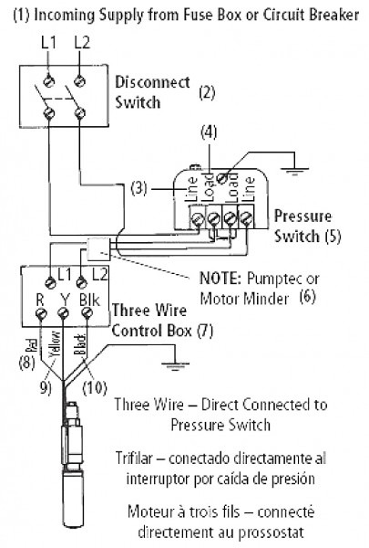 Pressure Switch Wiring Diagram Square D