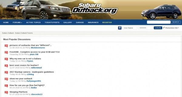 Subaruoutback Org