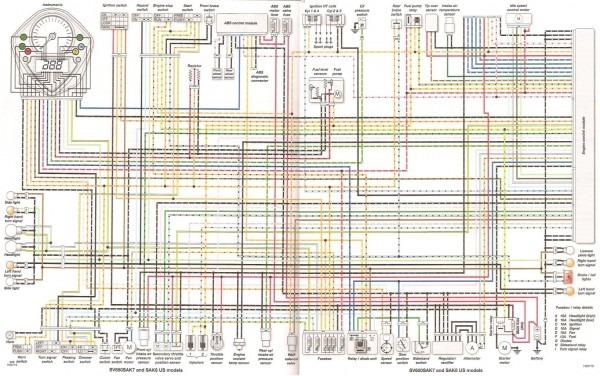 2008 Sv650 Wiring Diagram