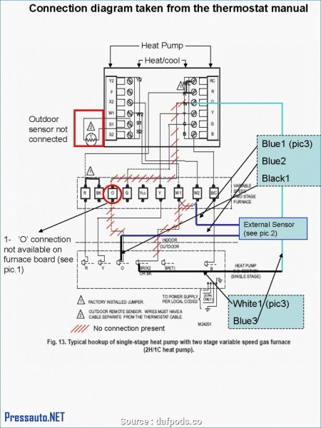 Trane Voyager Thermostat Wiring Diagram